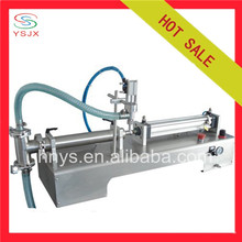 Semi Automatic Pneumatic high viscosity liquid filling machine with single head