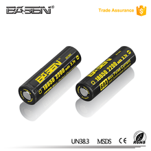 2017 Promotional Price Original cylindrical 186503.7v 2200mAh rechargeable battery with lowest price