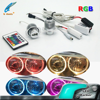 RGB LED Marker Angel Eyes E90 10W led light marker bulbs instead halogen angel eyes for bmw