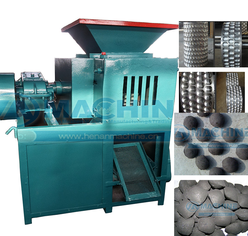 charcoal briquette making process with Client's highly speaking