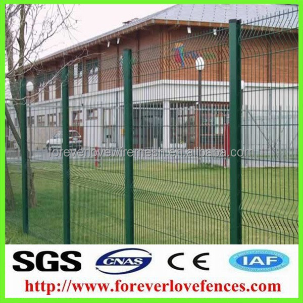 cheap highway wire mesh welded metal fence bending fence