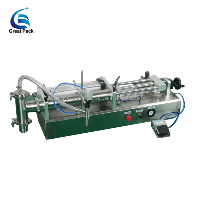 high speed semi automatic 1000-5000ml edible oil filling machine