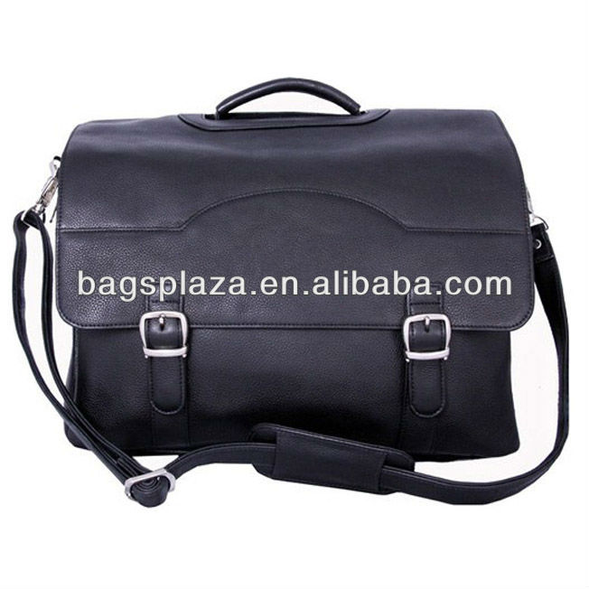 Best quality cow leather messenger bags leather men bags leather briefcase
