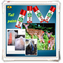 Autokem 400ml hot sale tail paint, inverted tail marker paint, dog/pig/cattle/sheep/livestock/animal marking spray paint