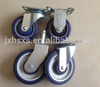 small pu/pvc castor wheel