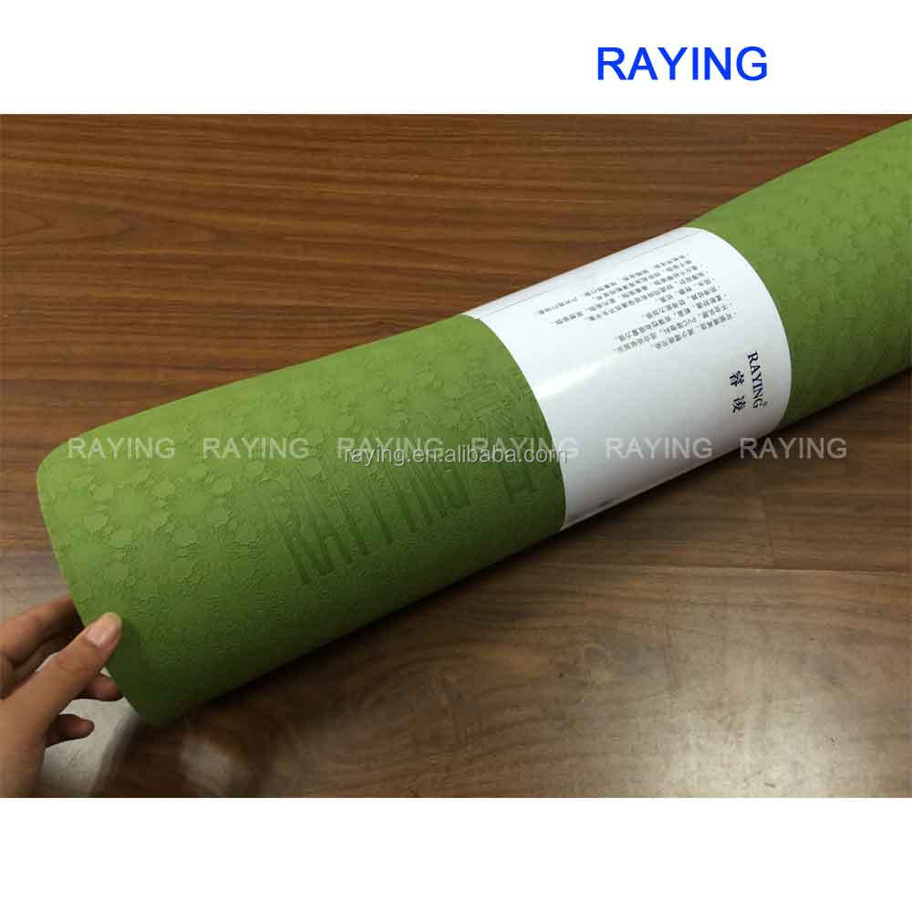 wholesale Raying <strong>Eco</strong> - friendly Manufacturer TPE Yoga Mat Yoga Towel Yoga Accessory
