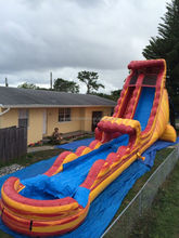 inflatable big water slides for sale, commercial hire inflatable slide