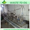 Hot selling Stainless Steel Small Waste Plastic To Oil Machine Sold to Brazil