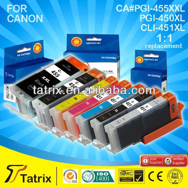 PGI 450 and CLI 451 Compatible Ink Cartridge for Canon Pixma MG5440/6340/