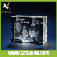 3d crystal gifts for childrens birthday