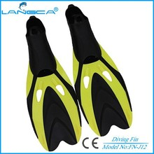 professional scuba dive fins foot pocket with different size