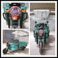 China 60V Electric Hybrid 3 Wheel Motorcycle For Gargo