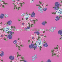 Tianyu t/c twill custom printed fabric manufacturer