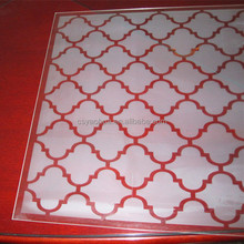 High quality ceramic frit printed glass Panels