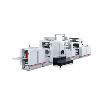 Automatic Paper bag making machine with window For making bags