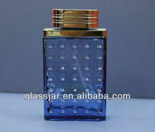 100ml squared pefume glass bottle