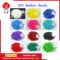 Hot Selling DIY Loom Refill Rubber' Bands For Making Bracelet