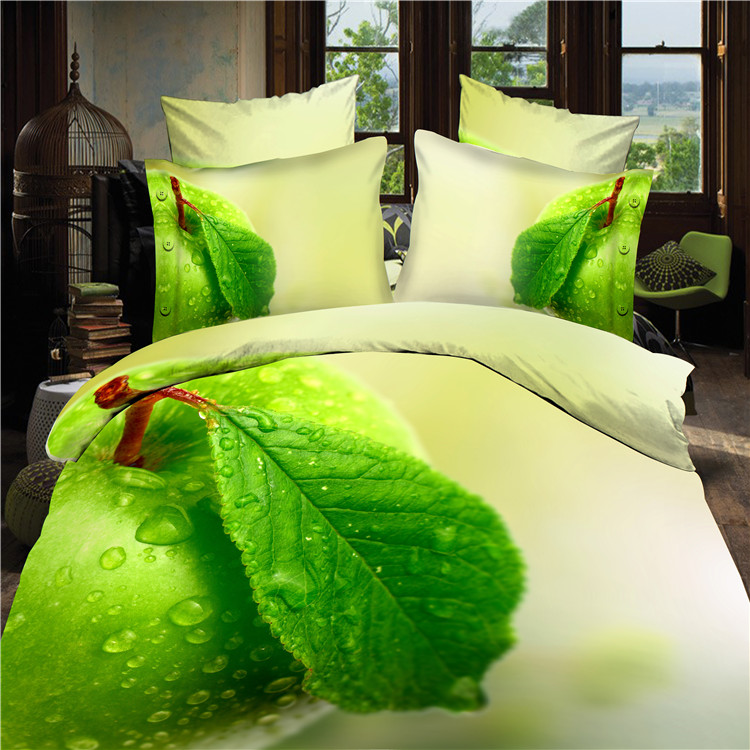 Top grade 3D bedding set comforter/duvet/quilt cover bed sheet