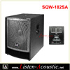 Super Bass Dual 18 inch 2.1 Subwoofer Speaker SQW-182SA