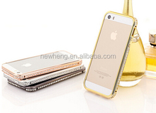 Cover Skin Bling Crystal Diamond Hard Back Case For Apple iPhone5/5S