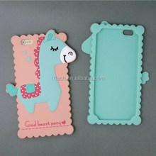 Thin Colorful Jelly Rubber 3d Silicone phone Case For iPhone 5/6/6 plus