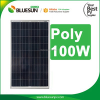China best pv supplier high quality mini round solar panel poly 100w