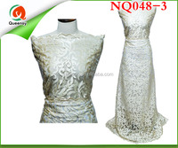 NQ048-3 French lace fabric/Embroidered wedding lace/high quality party lace