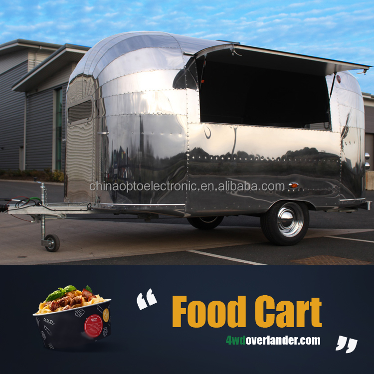 BBQ Trailer Used Ice Cream Pizza Concession Trailers with Appliances