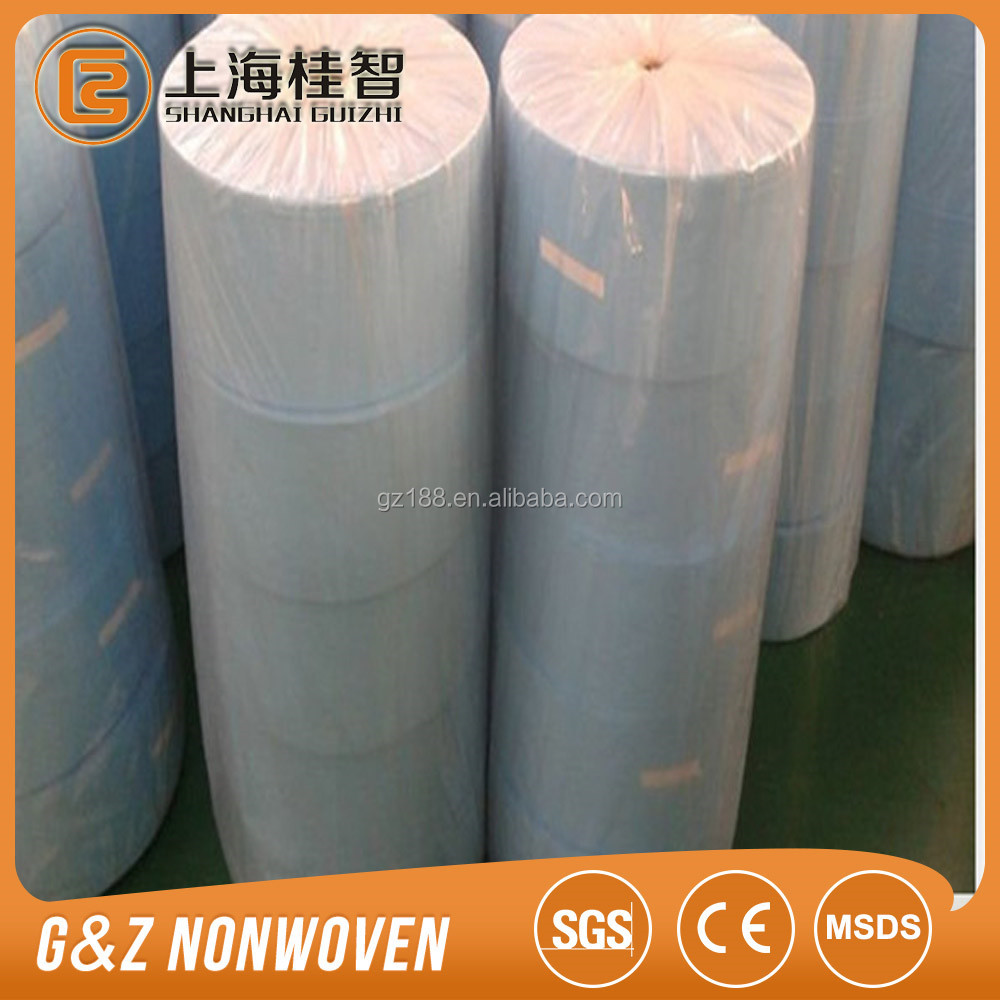 Spunlace Non woven Fabric raw material for wet wipes, wiping cloth