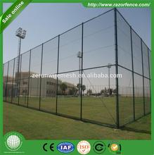 China Manufacture football gate chain link fence/galvanized heavy duty boundary wall gates