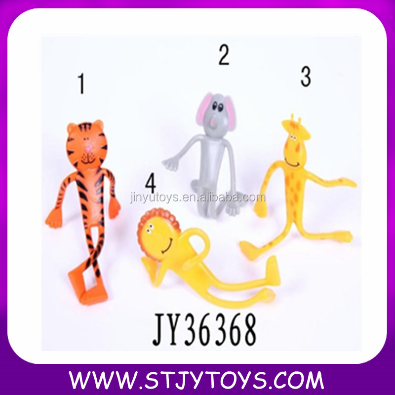 bendable figure toy flexable gumbie OEM accept