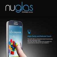 Nuglas newest model ultra clear tempered glass screen for samsung galaxy S4 i9500 Screen Protector