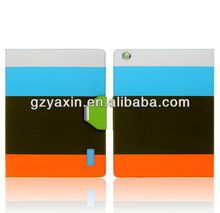 Alibaba China orignal leather smart cover for ipadmini