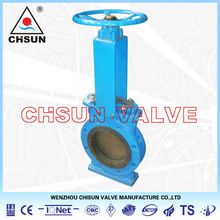Keystone Mining Industry Bi-directional Cast Iron Knife Gate Valve