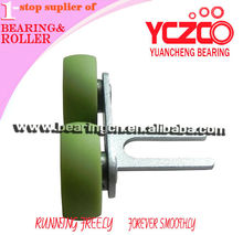 closet door roller & track / furniture wardrobe roller