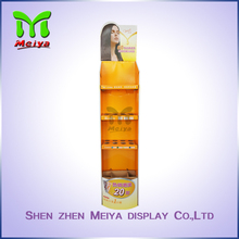 Advertising Book Cardboard display standee tiers advertising stand racks advertising poster display stand shelf