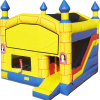 Outdoor inflatable cartoon castle combination slides, simulation of large inflatable dinosaur modeling slides
