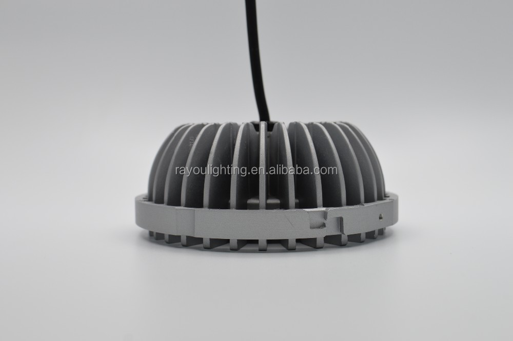 High lumen led lamp ar111 g53 220v, SMD3030 25w ar111 led, 2400lm g53 ar111 for commercial lighting