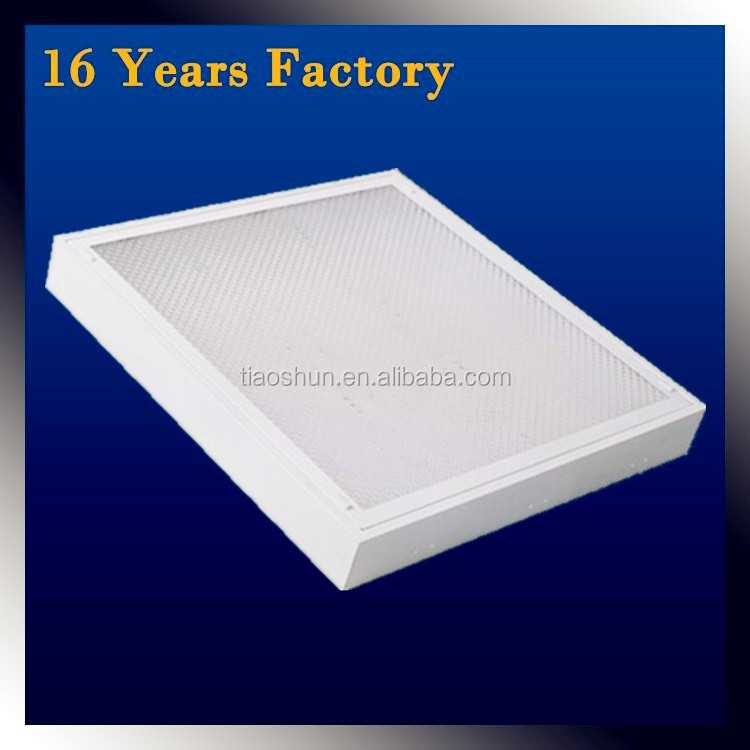 surface mount 36w T8 fluorescent light louver fixture