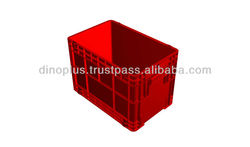 Carno Stackable Plastic Crate / Cheap Plastic Container 409 / agriculture plastic crates