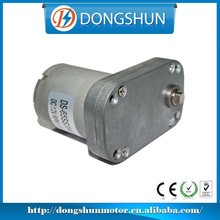DS-65SS3540 12v dc high torque electric motor 90 degree gear drive