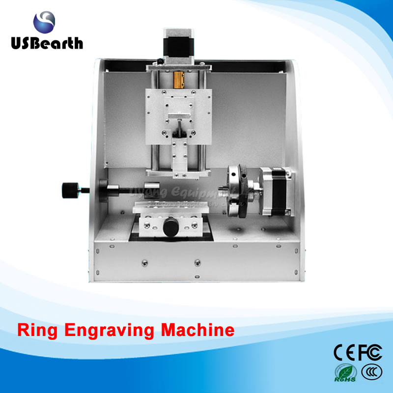 No tax to EU LY-40 photo ring engraving machine metal milling marking machine usb connection
