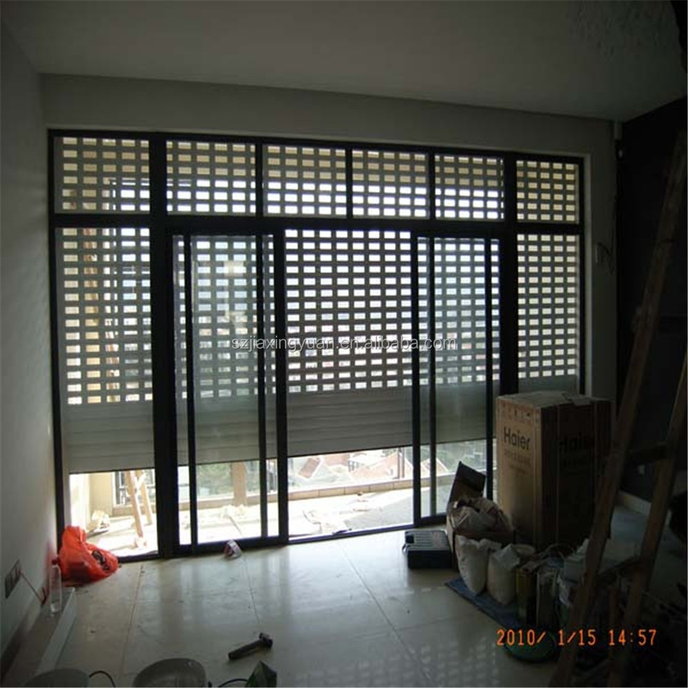 Aluminium Interior Security Ventilated Rolling Shutter Door Factory Buy Ventilated Rolling