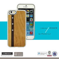 New Arrival Perfect Fit Case for iPhone 6 Wood Phone Case for iPhone 6s