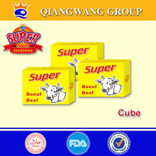10G/CUBE QWOK HALAL BEEF COOKING SPICES CUBE BEEF SEASONING CUBE BEEF STOCK BOUILLON CUBE BOUILLON CONDIMENT CUBE