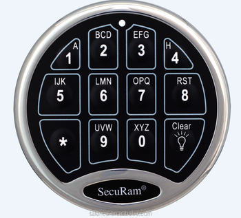 Electronic Combination Security Lock/Controller