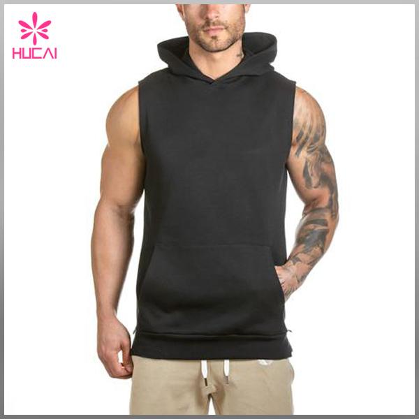 Blank Hoodies Wholesale Gym Sleeveless Hoodie/hoodies Of Fitness ...
