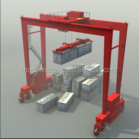 10 toneladas de carril de la gr a p rtico precio puente for Costo del portico anteriore