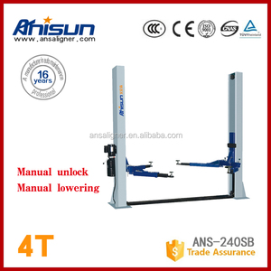 two post car lifter hydraulic for auto garage equipment 4000kg