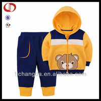 2014 Hot sale latest design factory kids tracksuit